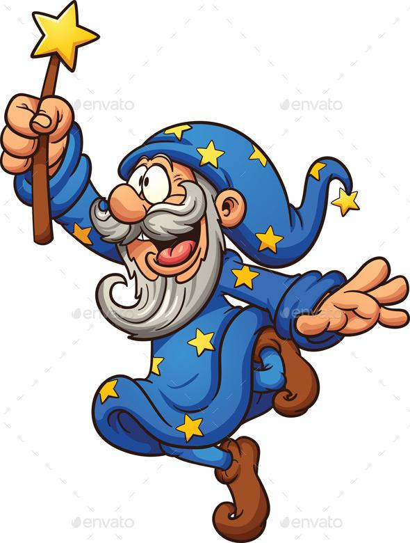 GraphicRiver Cartoon Wizard 11555758