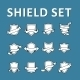 Shield Set - GraphicRiver Item for Sale