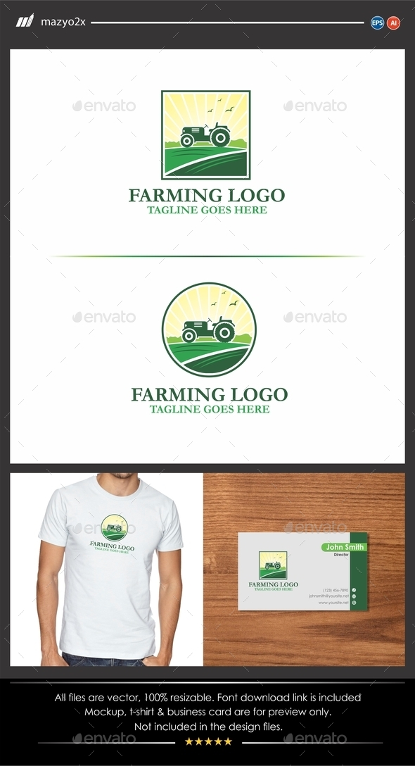 GraphicRiver Farming Logo 11555876