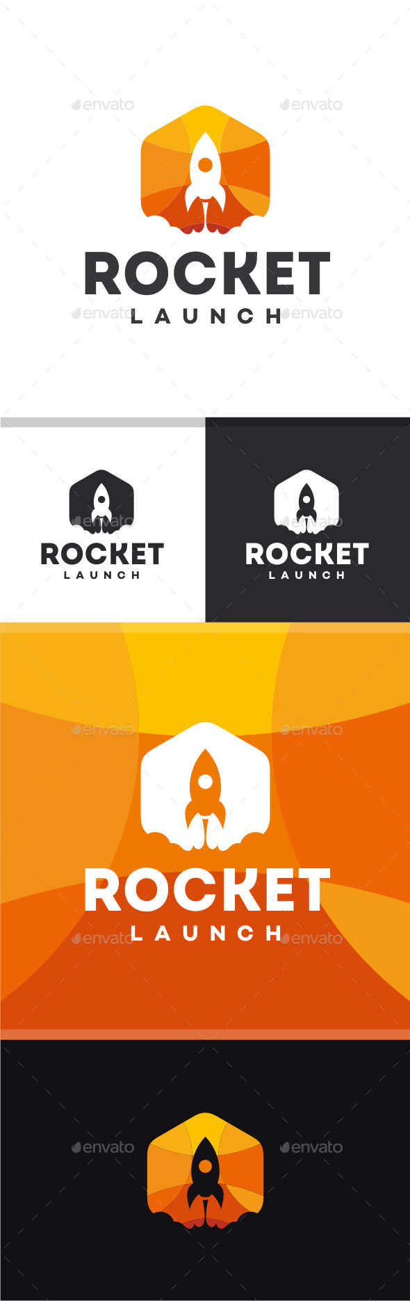 GraphicRiver Rocket Launch Logo 11555977