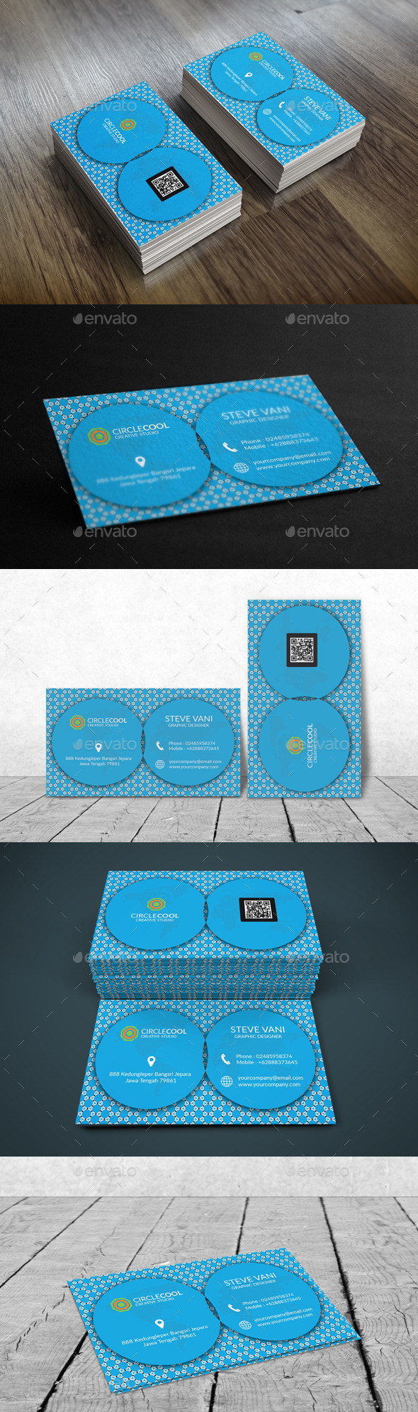 GraphicRiver Creativecircle Business Card V1 11556104