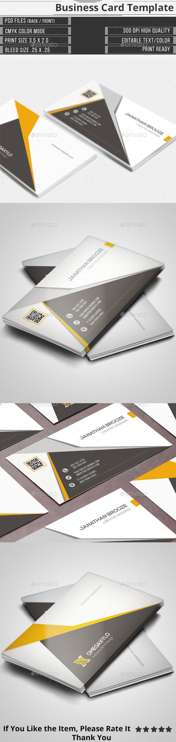GraphicRiver Corporate Business Card 11556271