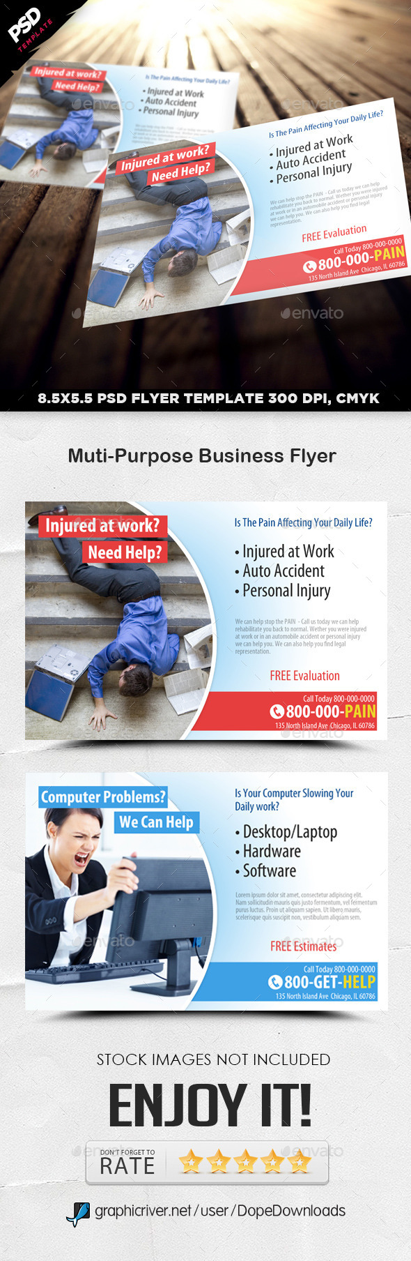 GraphicRiver Multi-Purpose Business Flyer 11556638