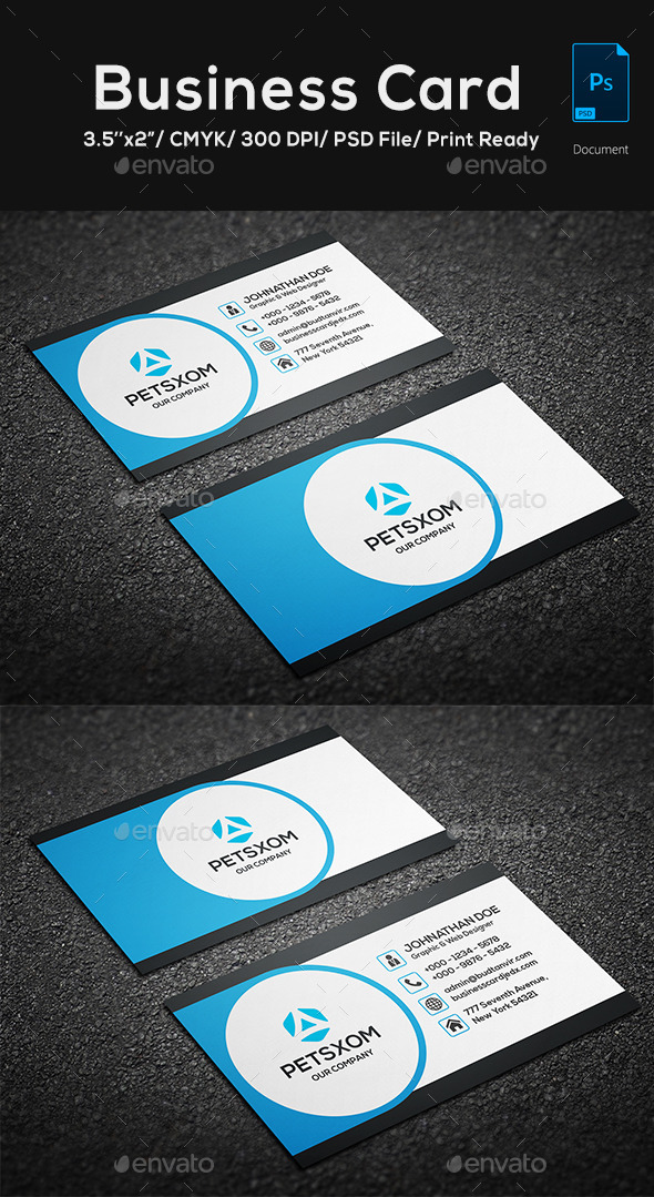 GraphicRiver Creative Business Card Template 05 11556711