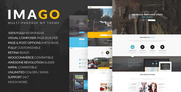 ThemeForest Imago Multipurpose WordPress Theme 11510610