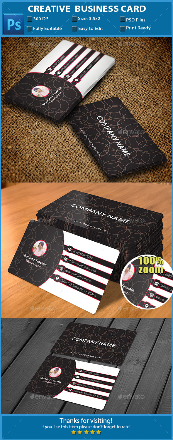GraphicRiver Creative Business Card 11556872