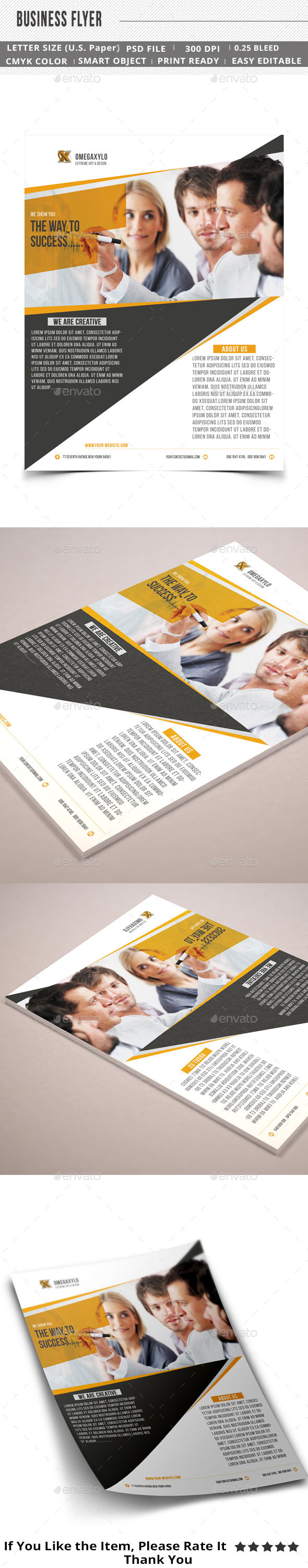GraphicRiver Corporate Business Flyer 11556892