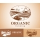 Organic Farming Design Element. - GraphicRiver Item for Sale