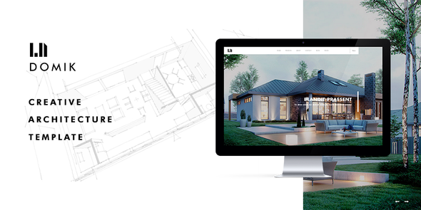 ThemeForest Domik Creative Responsive Architecture WP Theme 11487321