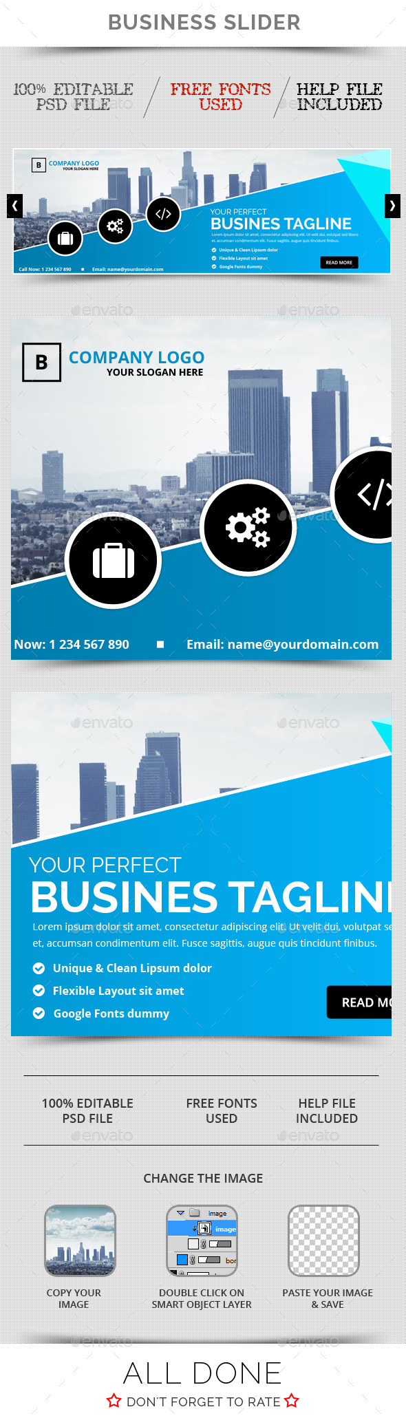 GraphicRiver Business Slider V20 11557380