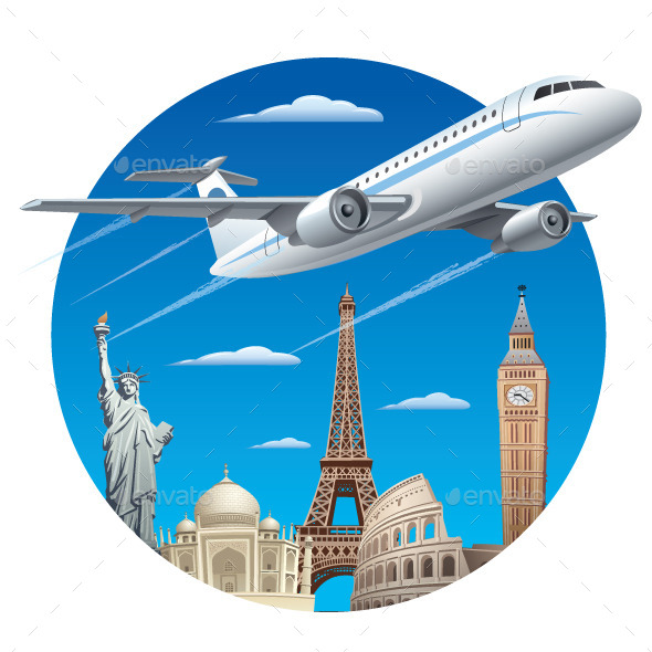 GraphicRiver Air Travel 11557446