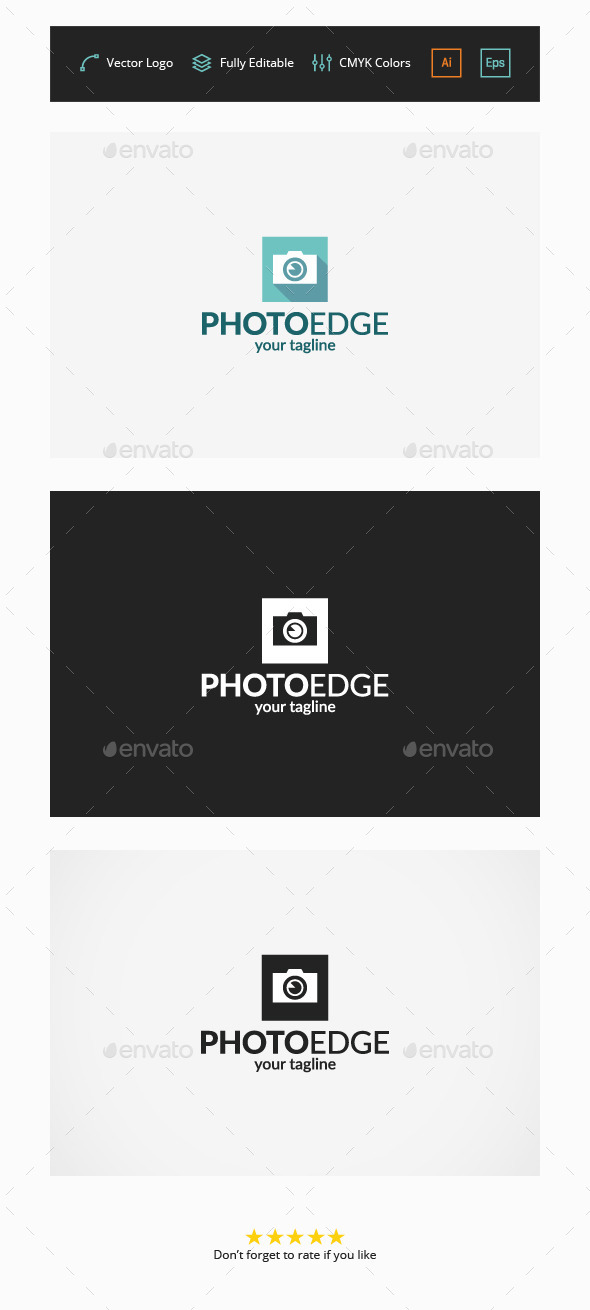 GraphicRiver Photo Edge Logo 11557452