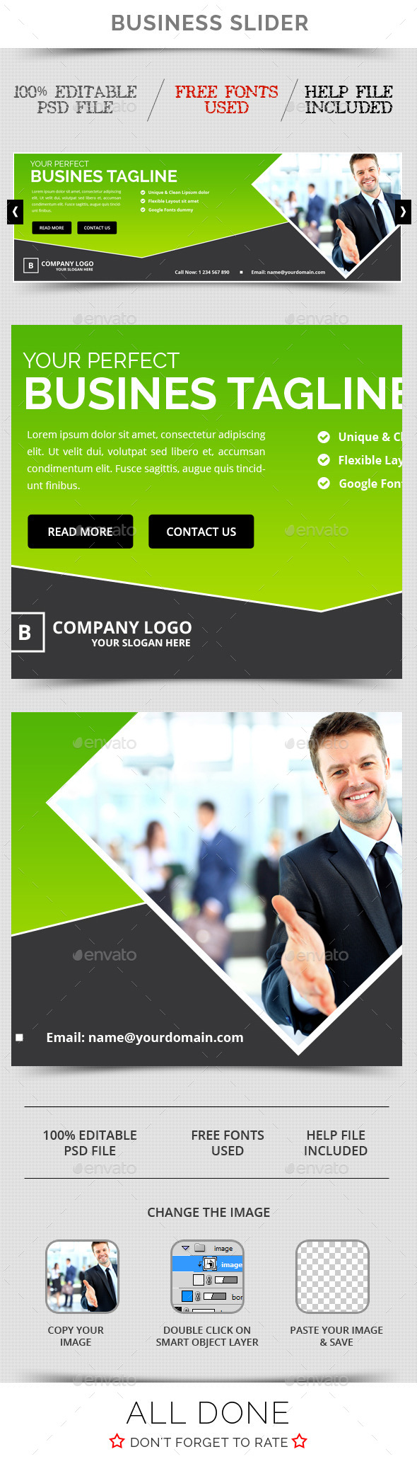 GraphicRiver Business Slider V21 11557527