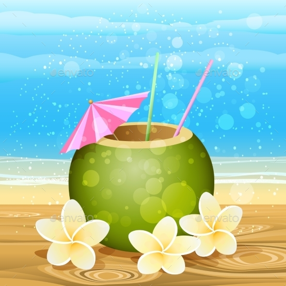 GraphicRiver Summer Cocktail 11557630