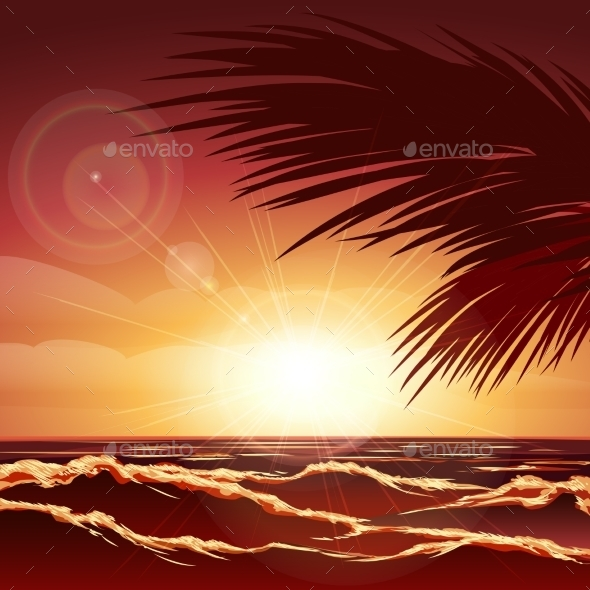 GraphicRiver Sunset 11557635