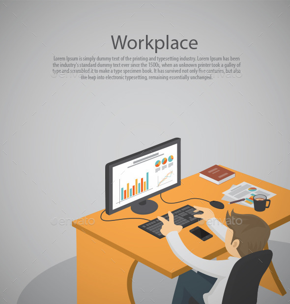 GraphicRiver Workplace 11557746