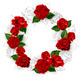 Circle of Red Roses - GraphicRiver Item for Sale