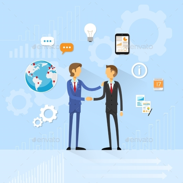 GraphicRiver Business People Handshake Businessmen Hand Shake 11557876