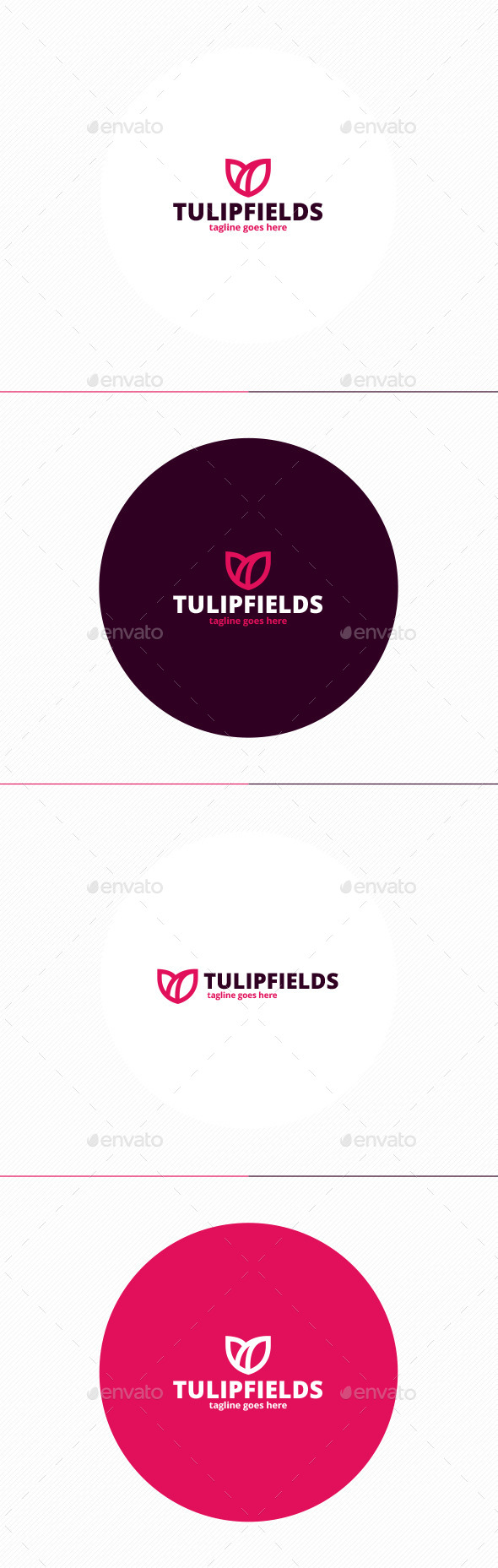 GraphicRiver Tulip Fields Logo 11558187