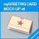 myGreeting Card Mock-up v5 - GraphicRiver Item for Sale
