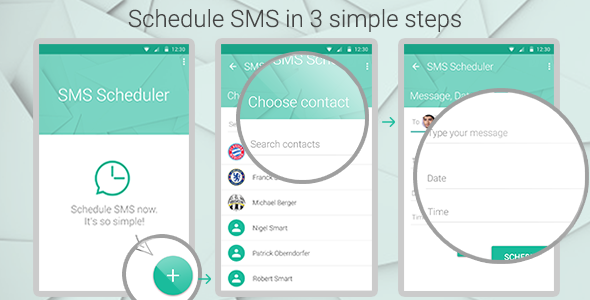 CodeCanyon SMS Scheduler 11558382