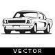Classic Cars Vector - GraphicRiver Item for Sale