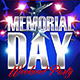Memorial Day Weekend Party Template - GraphicRiver Item for Sale