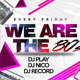 We Are The 80s Flyer - GraphicRiver Item for Sale