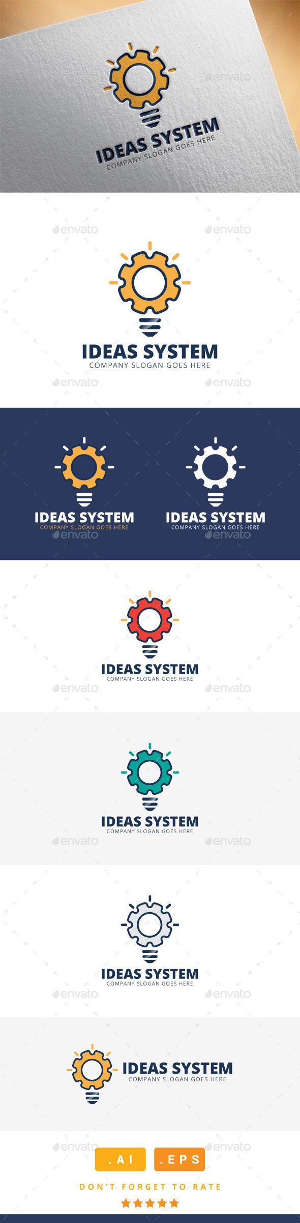 GraphicRiver Ideas System Logo 11559229