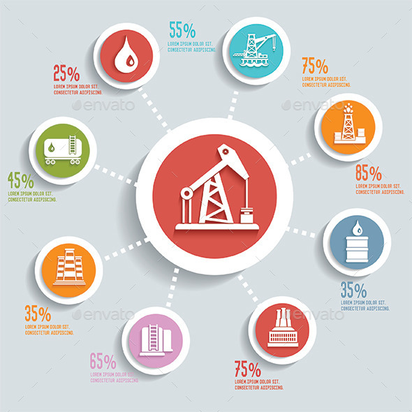 GraphicRiver Oil Industry Design 11560026