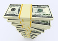 Big money stack from dollars usa. Finance concepts - PhotoDune Item for Sale