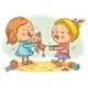 Two Girls Fighting - GraphicRiver Item for Sale
