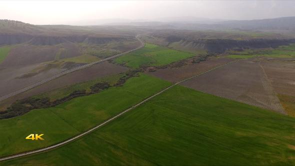 Creek and Alluvial Plain