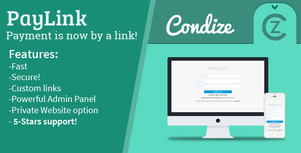 CodeCanyon PayLink Pay by Link 11560776