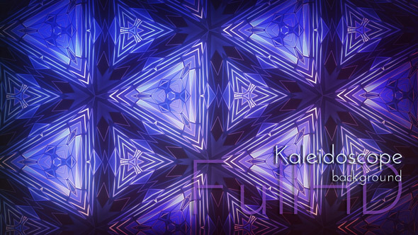Kaleidoscope Triangles Animation