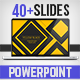 Yellow Black PowerPoint Template - GraphicRiver Item for Sale