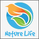 Nature Bird Life Logo - GraphicRiver Item for Sale