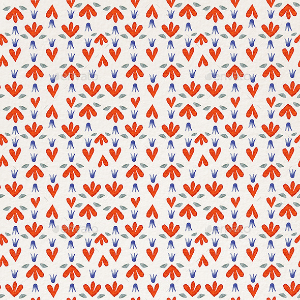 GraphicRiver Pattern Heart 11561446