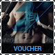 Fitness and Gym Discount Voucher - GraphicRiver Item for Sale