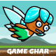 Flappy Fairy Game Character Sprite Sheets - GraphicRiver Item for Sale