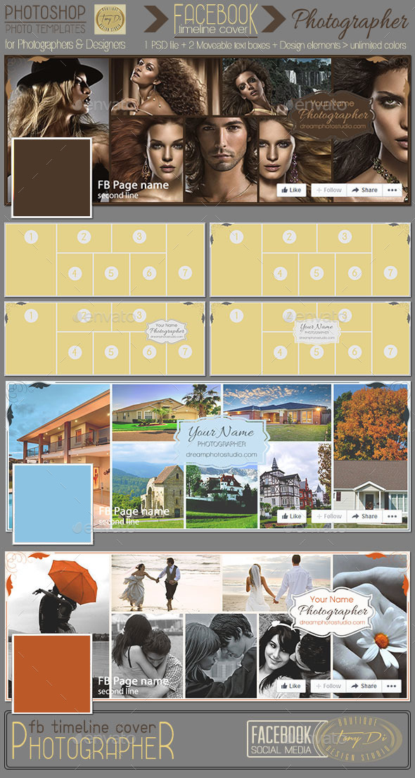 GraphicRiver Photographer FB Timeline Cover 11561580