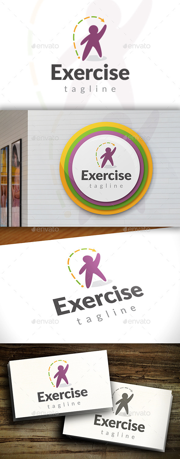 GraphicRiver Exercise Logo 11561612