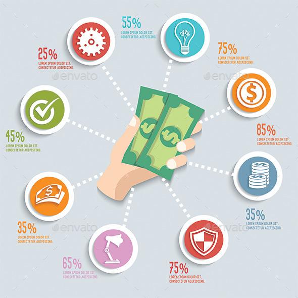 GraphicRiver Finance Infographic Design 11561701