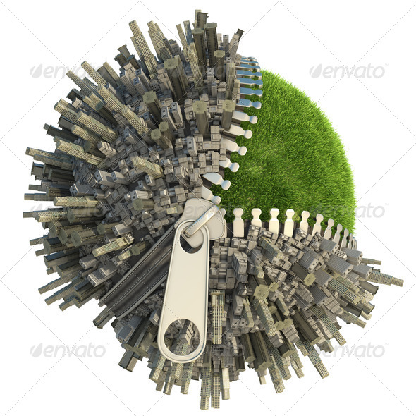 environmental change concept - Stock Photo - Images
