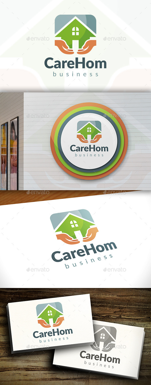 GraphicRiver Safe Home Logo 11562110