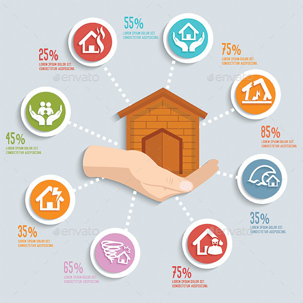 GraphicRiver Home Infographic Design 11562207