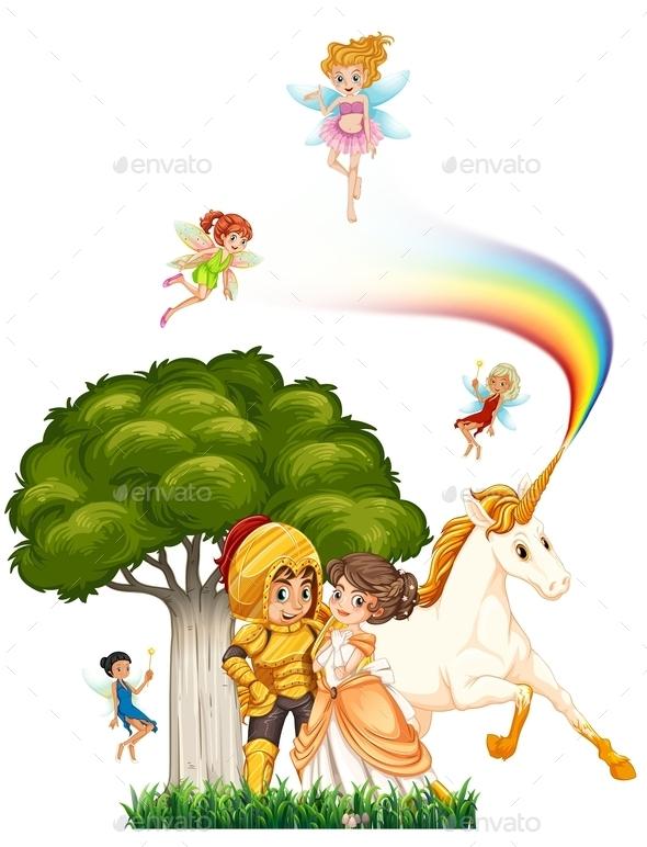 GraphicRiver Knight and Princess 11562249