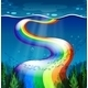 Rainbow and Ocean - GraphicRiver Item for Sale