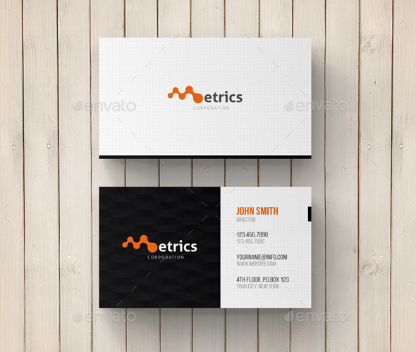 GraphicRiver Modern Corporate Business Card 11562281