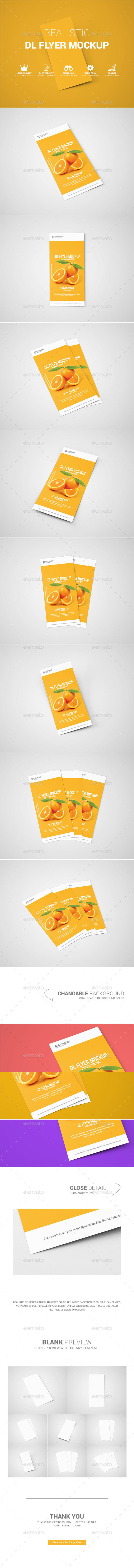 GraphicRiver DL Flyer Mock-Up 11562286